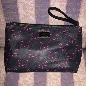Betsey Johnson Cat Make Up Bag
